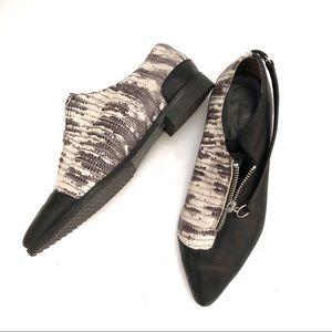 Anthro Daniella Lehavi Snakeskin Leather Loafer